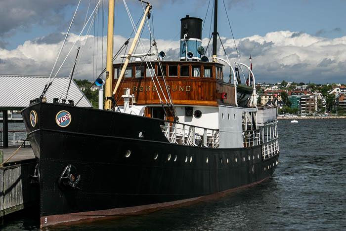 Et bilde av D/S Børøysund